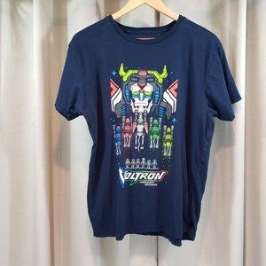LOOT CRATE Navy T Shirt with Voltron Print